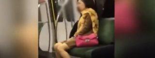 [VÍDEO] El escandaloso orgasmo de la exhibicionista pajillera en pleno metro