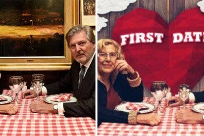 Twitter transforma el castizo encuentro de Carmena y el ministro en una romántica cita al más puro estilo 'First Dates'