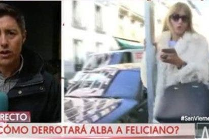 'Carrillazo' en toda regla: la ex de Feliciano se pega una buena hostia