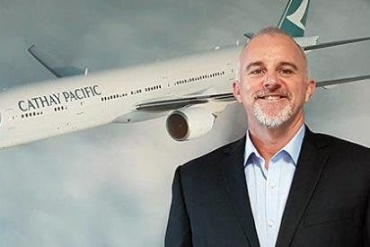 Jansen Stafford nuevo director general de Cathay Pacific en España