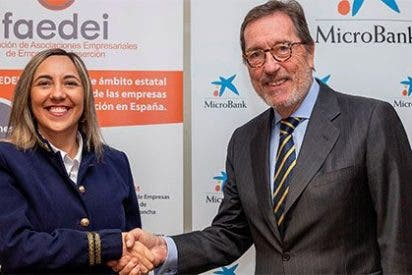 MicroBank y la Federación de Asociaciones Empresariales de Empresas de Inserción firman un convenio de colaboración para potenciar el desarrollo de empresas sociales