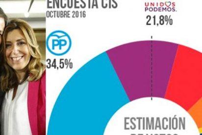 """Las redes hurgan en la herida del PSOE tras los resultados del CIS: """"A este paso en Ferraz ponen un ZARA"""""""