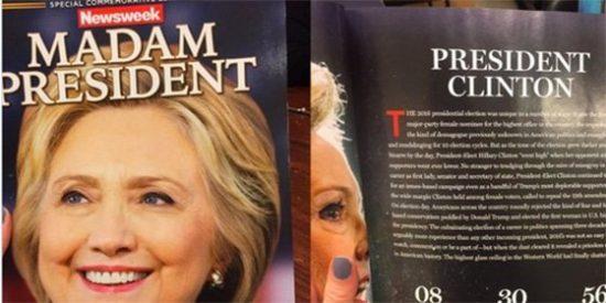 El día que Hillary Clinton ganó...por una pifia de Newsweek