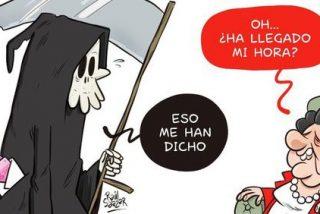 Los patosos de la revista 'El Jueves' reseñan con una viñeta atroz la muerte de Rita Barberá