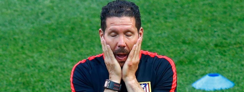 Después de perder con Real Madrid, estalló la bomba en contra de Simeone