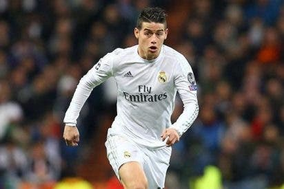 División en el Real Madrid por el futuro de James Rodríguez