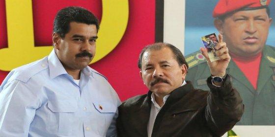 Maduro se pone cachondo con la victoria del tirano Ortega en Nicaragua
