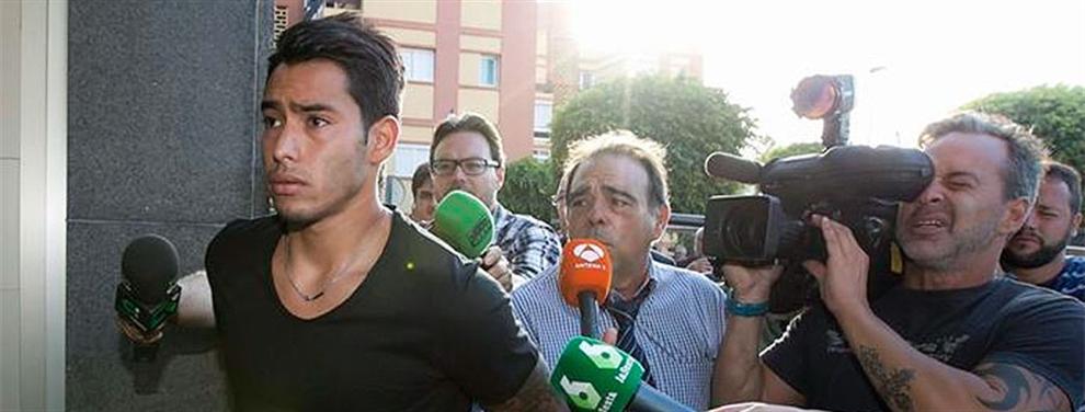 ¡El argentino Sergio Araujo, condenado a nueve meses de cárcel!