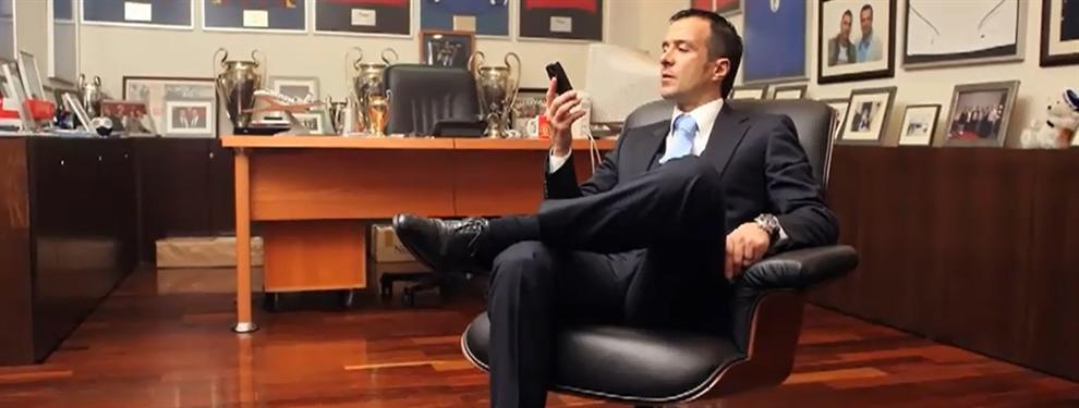El Barça le preguntó a Jorge Mendes por otro jugador que no era Cancelo
