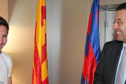 """El inteligente truco que se esconde detrás del """"no"""" de Messi al Barça"""
