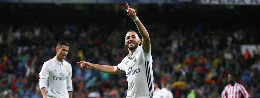 El jugador al que peor le sentó el gol de Karim Benzema en Varsovia