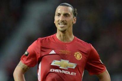 El Manchester United busca una salida para Zlatan Ibrahimovic