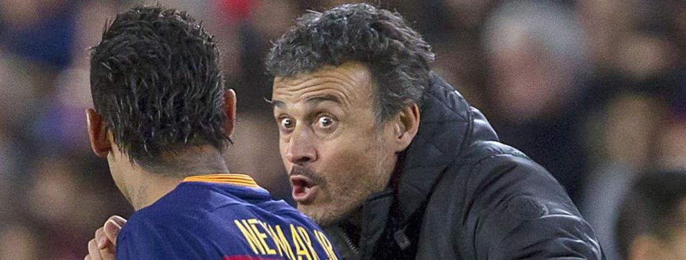 El pacto secreto de Luis Enrique con Neymar de cara al clásico
