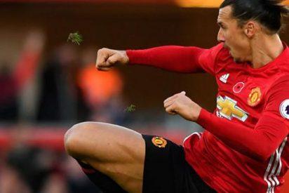 El 'palo' de Ibrahimovic al Manchester United... salvando a Mourinho