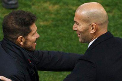 El 'palo' enorme de Zidane que deja noqueado a Simeone tras el derbi