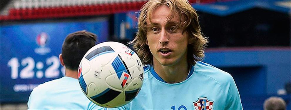 El 'palo' (indirecto) de Luka Modric al Real Madrid desde la distancia