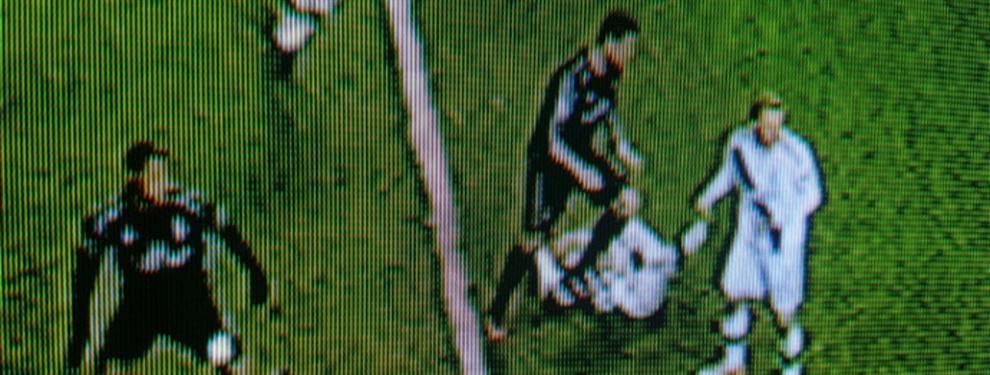 El pisotón de Cristiano Ronaldo que indigna al vestuario del Barça