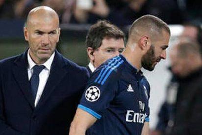 El plan que tiene Zidane con Benzema para el derbi