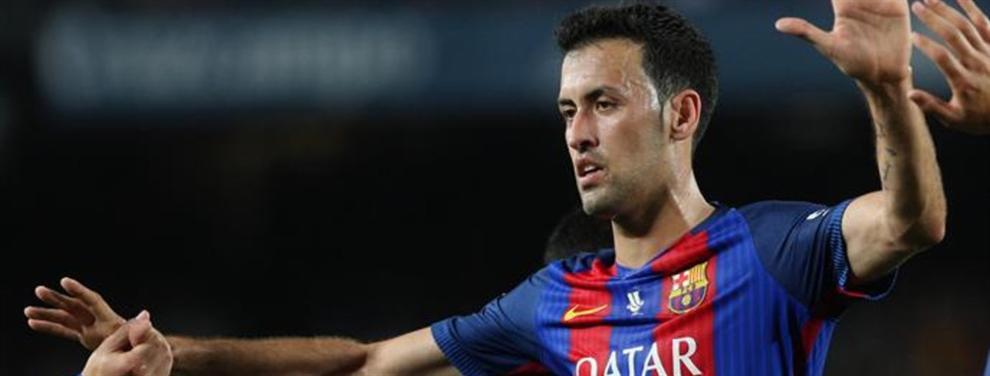 El rendimiento de Busquets dispara las alarmas y el Barça busca en el mercado