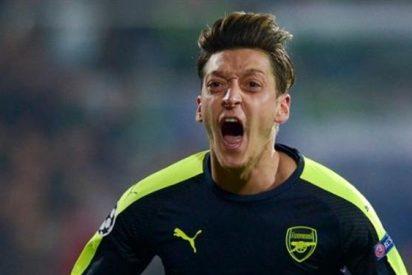 El suculento nuevo salario que cobrará Mesut Özil en el Arsenal
