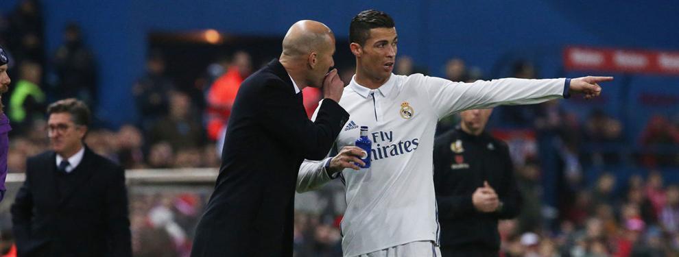 El último escándalo que sale a la luz entre Zidane y el vestuario