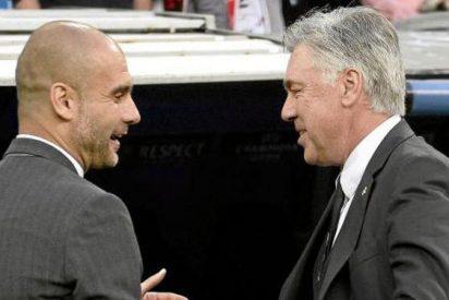 El zasca contra Carlo Ancelotti con Pep Guardiola de por medio