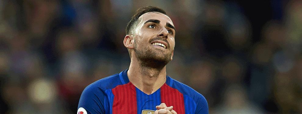En la directiva del Barça se echan las manos a la cabeza con Paco Alcácer