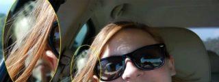 Se toma un 'selfie' en el coche y aparece el fantasma del niño que murió allí en un accidente