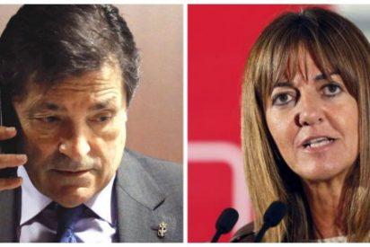 """Javier Fernández a Mendía: """"Idoia, ¿me puedes decir qué le digo a la prensa?"""""""