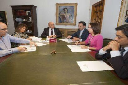 Los Grupos Provinciales Popular, Socialista, Valladolid Toma la Palabra y Ciudadanos pactan las líneas básicas del Presupuesto 2017