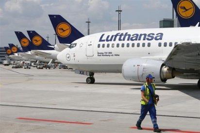 Lufthansa cancela 830 vuelos este viernes por la huelga de sus pilotos