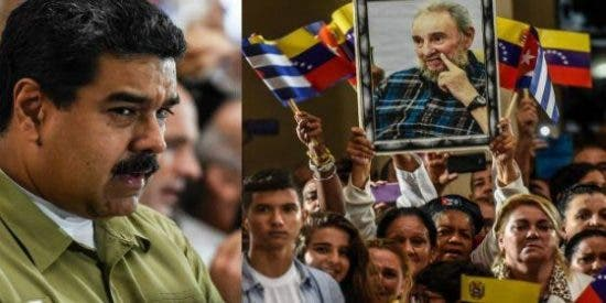 [VÍDEO] El lacrimógeno homenaje de Maduro a Fidel Castro frente a la tumba de Chávez