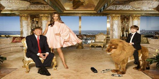 Pasen y vean el fastuoso ático de 100 millones que tiene Donald Trump en la Quinta Avenida