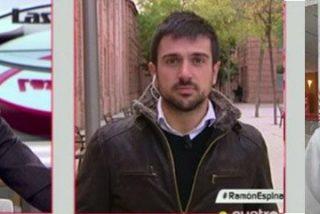 Ramón Espinar intenta de ir de humilde pero hasta en Cuatro le dan para el pelo