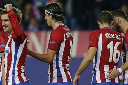 Griezmann coloca al Atlético en octavos con un gol sobre la bocina
