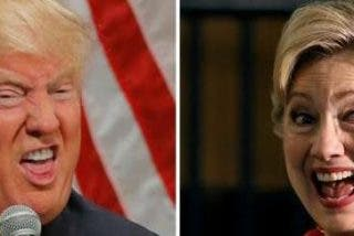 Las encuestas desatan el pánico en el equipo de Hillary Clinton