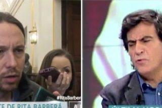 """Arcadi sacude un 'puñetazo' al circense Pablo Iglesias: """"Tiene la reacción de un primate"""""""