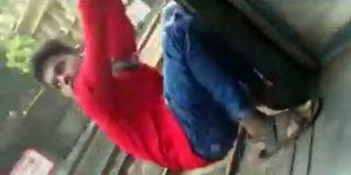 El joven que muere jugando a bordo del tren al golpearse contra un poste