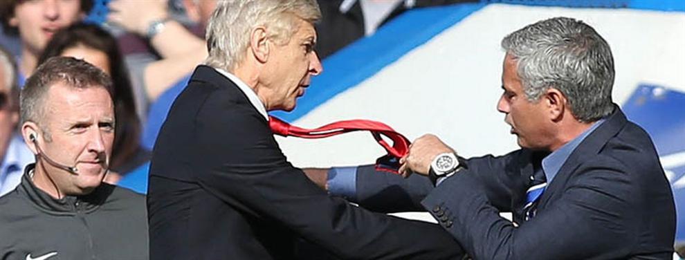 Jose Mourinho usa a Wenger para librarse del castigo de la FA