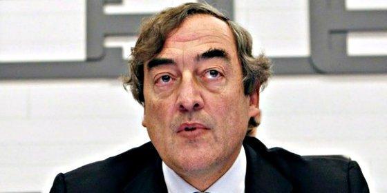 Juan Rosell: CEOE atribuye la desaceleración de la inversión a la incertidumbre nacional e internacional