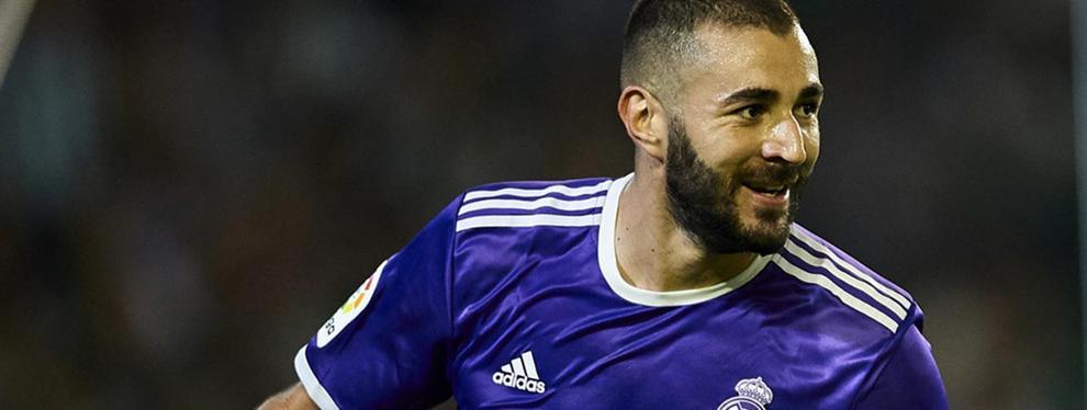 Karim Benzema monta un lío en el Real Madrid