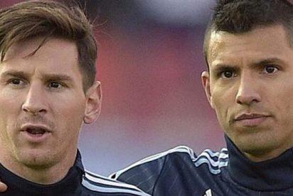 La confesión de Agüero a Messi horas antes de enfrentarse en Manchester