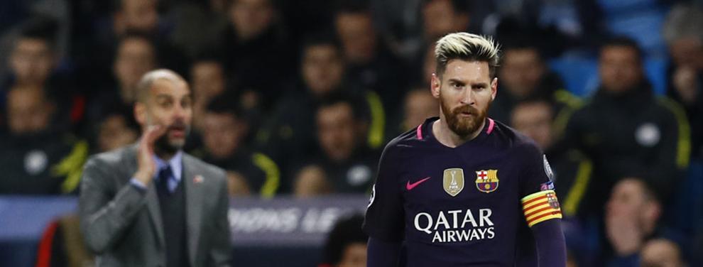La duda razonable en el Barça: ¿Guardiola tenía pensado enojar a Messi?