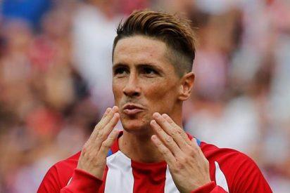 La titularidad de Fernando Torres generó debate en el vestuario del Atlético