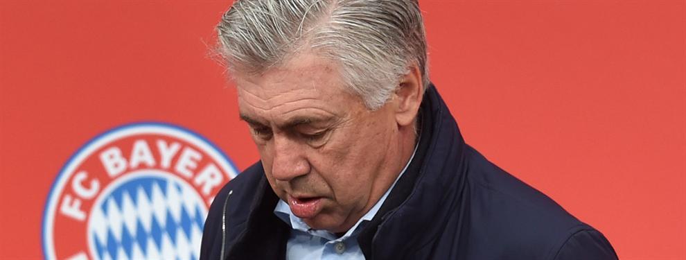 La traición de Ancelotti al Real Madrid con un fichaje de fondo