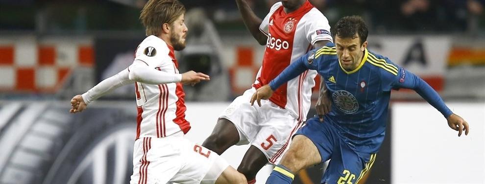 Las cinco claves de la derrota de un Celta que reaccionó tarde ante el Ajax