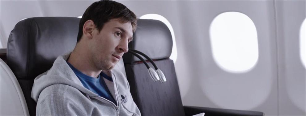 Leo Messi: el número uno que viaja por el mundo como un polizón clandestino