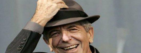 Leonard Cohen, poeta y susurrador