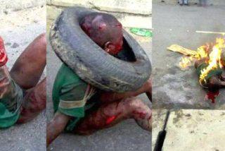 Linchamiento de un niño por robar harina... ¡lo queman vivo tras propinarle una feroz paliza!