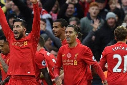 Liverpool súper puntero en Inglaterra